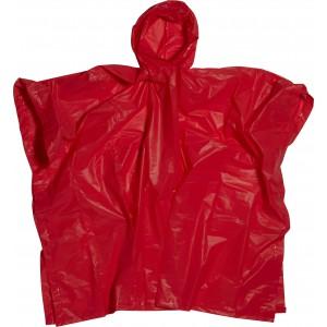 Esőkabát tokkal, piros