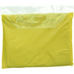 Esőkabát, vinil, sárga